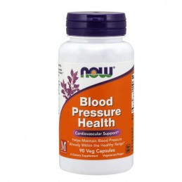 Blood Pressure Health 90 cápsulas vegetais Now