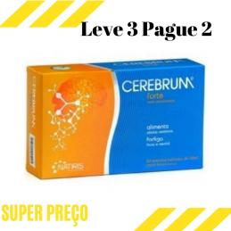 Cerebrum Forte 30 + 10 cápsulas Leve 3 Pague 2