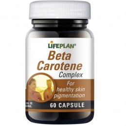 Beta Carotene 60 cápsulas
