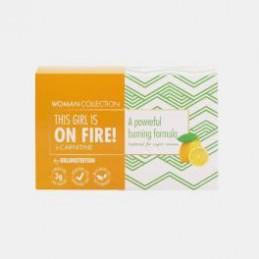 On Fire L Carnitine Woman Limão 15 Unidoses