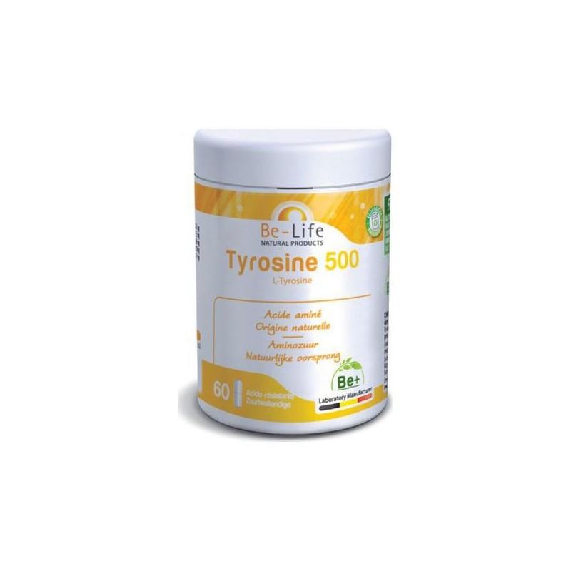 Tyrosine 500 60 cápsulas - Be-Life