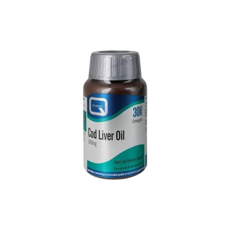 Cod Liver Oil 30 cápsulas Quest