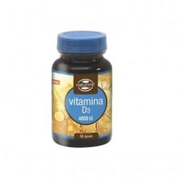 Vitamin D3 4000IU 60 cápsulas Naturmil
