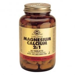 Calcium Magnesium 2:1 90 comprimidos Solgar