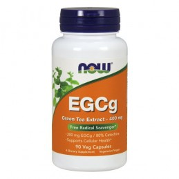 EGCG 400mg 90 cápsulas vegetais Now