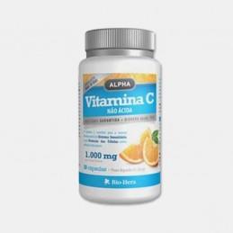 Alpha Vitamina C Não Ácida 30 cápsulas Bio Hera