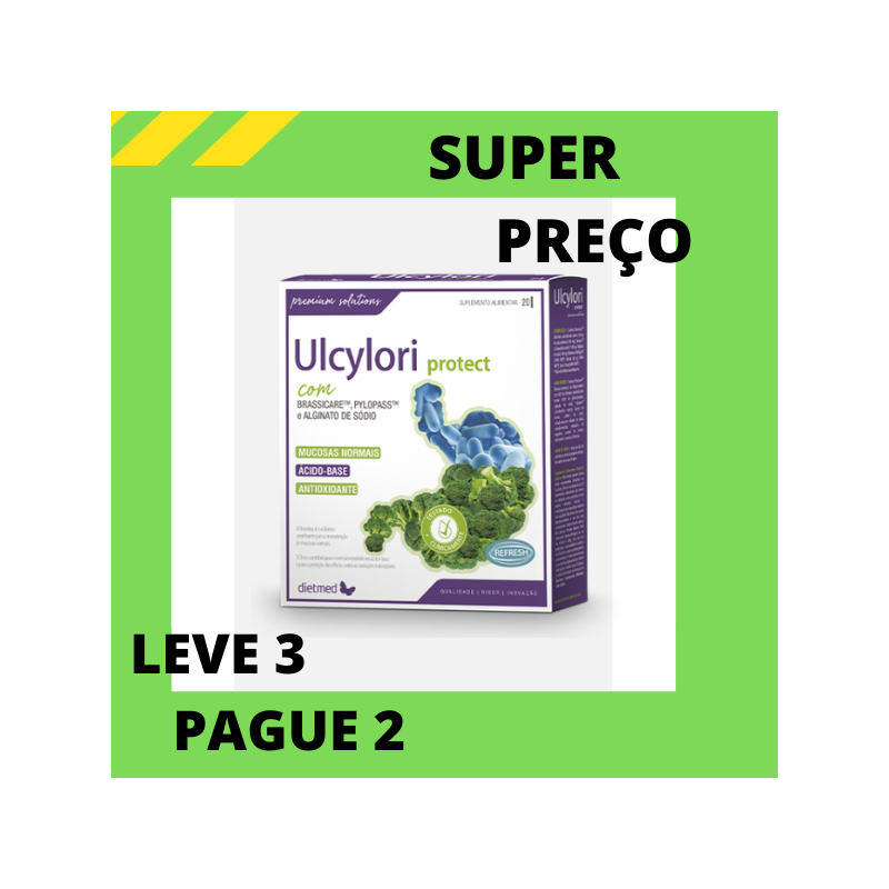 Ulcylori Protect 20 Sticks Dietmed Leve 3 pague 2