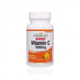Vitamina C 1000mg 90 Comprimidos Natures Aid