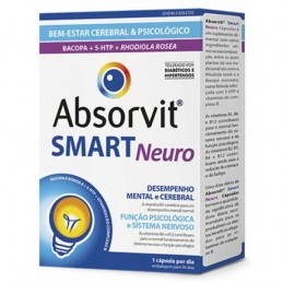 Absorvit Smart Neuro 30 Cápsulas