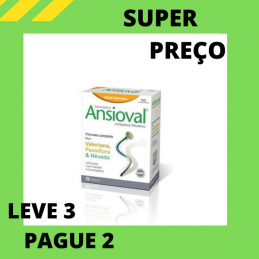 Ansioval 60 comprimidos Leve 3 Pague 2