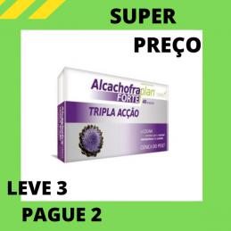 Alcachofra Plan Forte Tripla Ação 40 Ampolas Leve 3 Pague 2