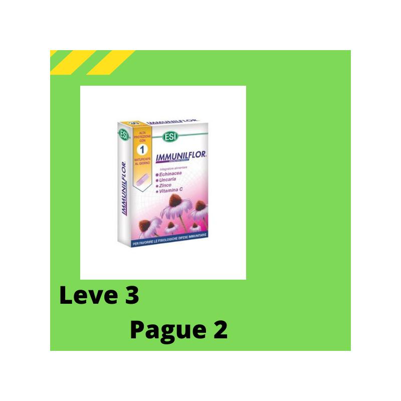 Immunilflor 30 cápsulas Leve 3 Pague 2