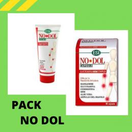 Pack No Dol Creme 100 ml+ No Dol 60 cápsulas E.S.I