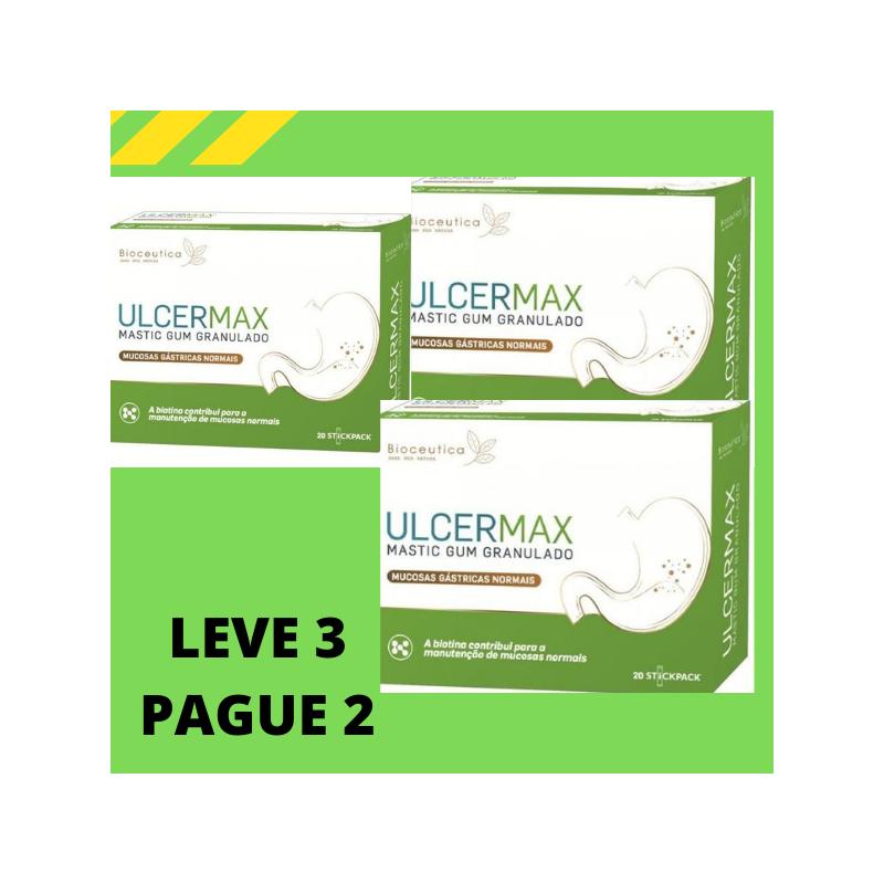 Ulcermax 20 Saquetas Leve 3 Pague 2 Bioceutica