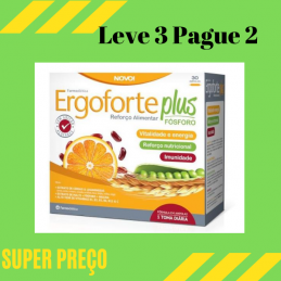 Ergoforte Plus 30 Ampolas Leve 3 Pague 2 Farmodietica