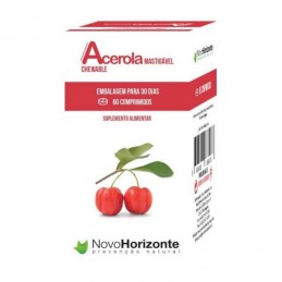 Acerola Mastigavel 60 comprimidos Novo Horizonte
