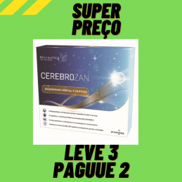 Cerebrozan 20 Singlepack 10ml Bioceutica Leve 3 Pague 2