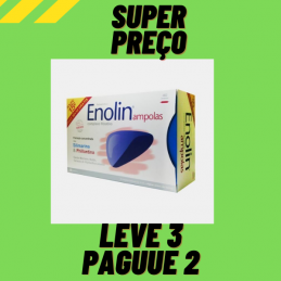 Enolin 40 Ampolas - Leve 3 Pague 2 Farmodietica