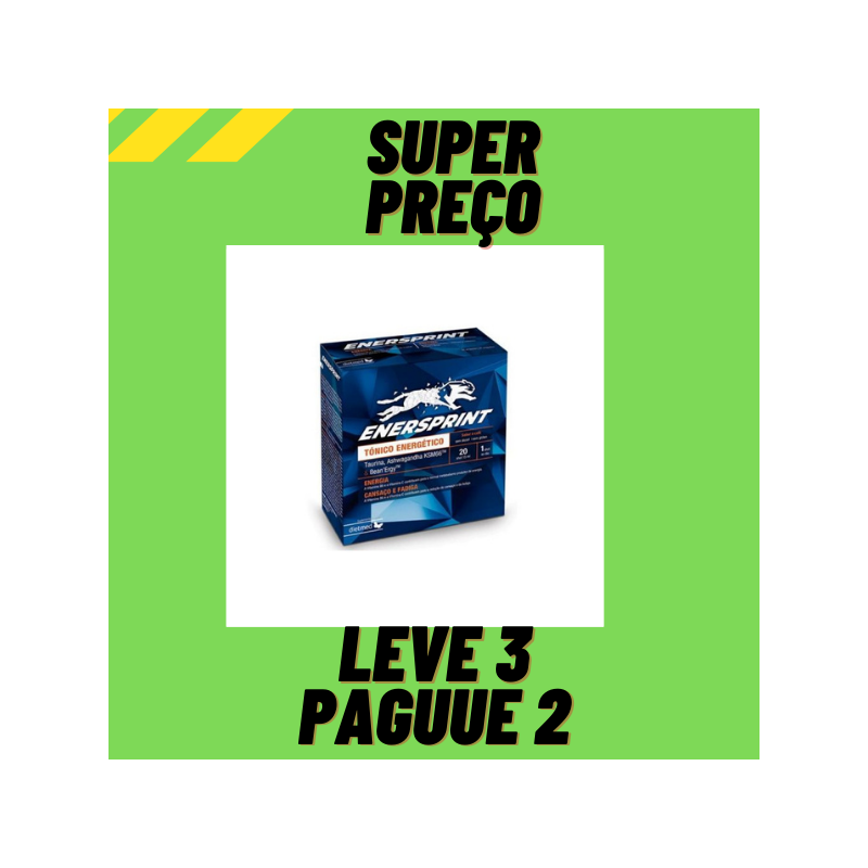 Enersprint 2x15ml Ampolas Leve 3 Pague 2 Dietmed