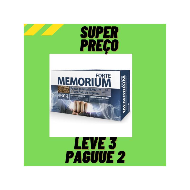 Memorium Forte 30 Ampolas Leve 3 Pague 2 Dietmed