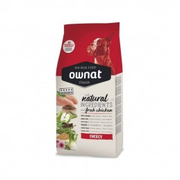 Ownat Classic Energy Chicken & Rice 20Kg