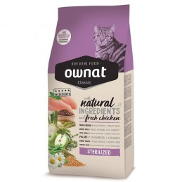 Ownat Classic Sterilized Chicken 4Kg