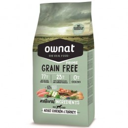 Ownat Prime Grain Free Adult Chicken & Turkey 3Kg