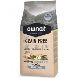 Ownat Just Grain Free Adult Lamb Dog 14Kg