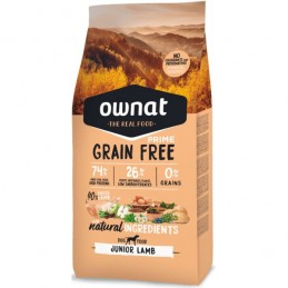 Ownat Prime Grain Free Junior Lamb 3Kg