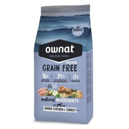 Ownat Prime Grain Free Senior Chicken & Turkey 14Kg