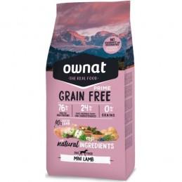 Ownat Prime Grain Free Mini Lamb 3Kg
