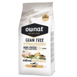 Ownat Grain Free Hypo-Allergenic Lamb 3Kg