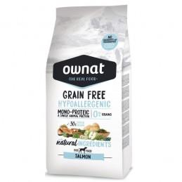 Ownat Grain Free Hypo-Allergenic Salmon 3Kg