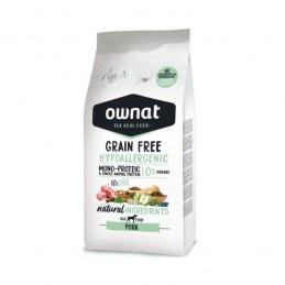 Ownat Grain Free Hypo-Allergenic Pork 3Kg