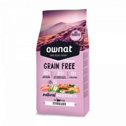 Ownat Just Grain Free Prime Sterilized Chicken & Turkey 3Kg