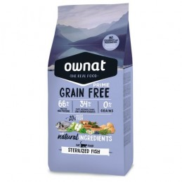 Ownat Grain Free Sterilized Fish 3Kg