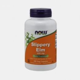 Slippery Elm 400mg 100capsulas Now