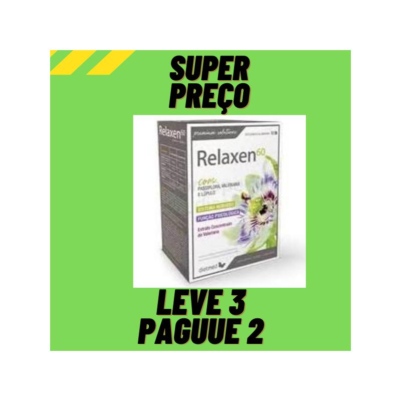 Relaxen 60 Comprimidos Leve 3 Pague 2