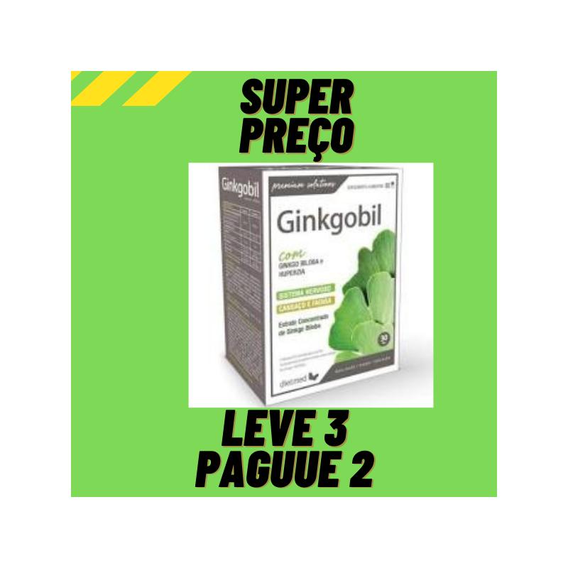Ginkgobil 60 capsulas Dietmed Leve 3 Pague 2