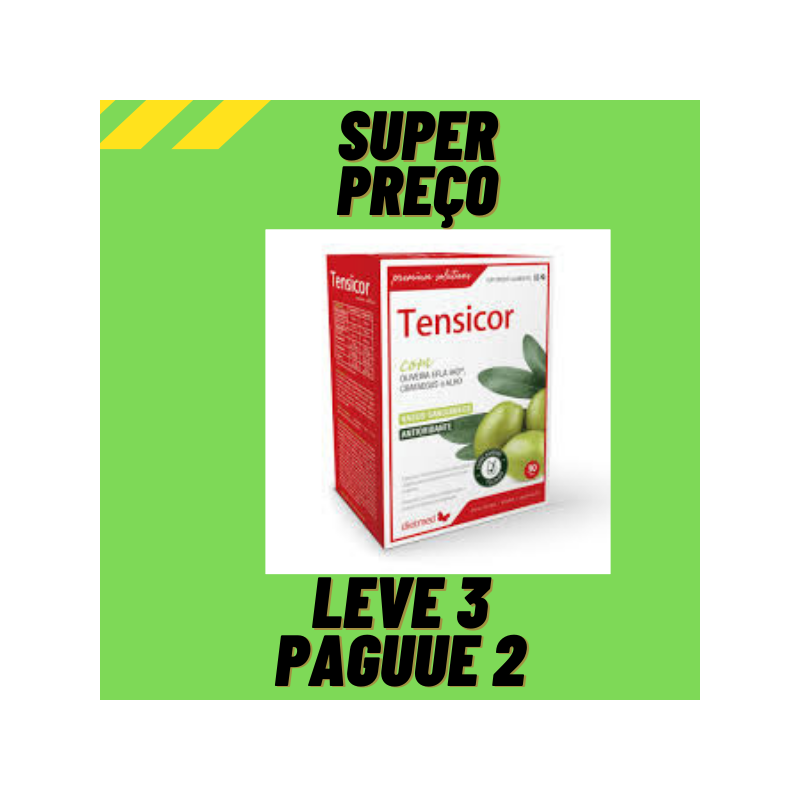 Tensicor 60 Comprimidos Dietmed Leve 3 Pague 2
