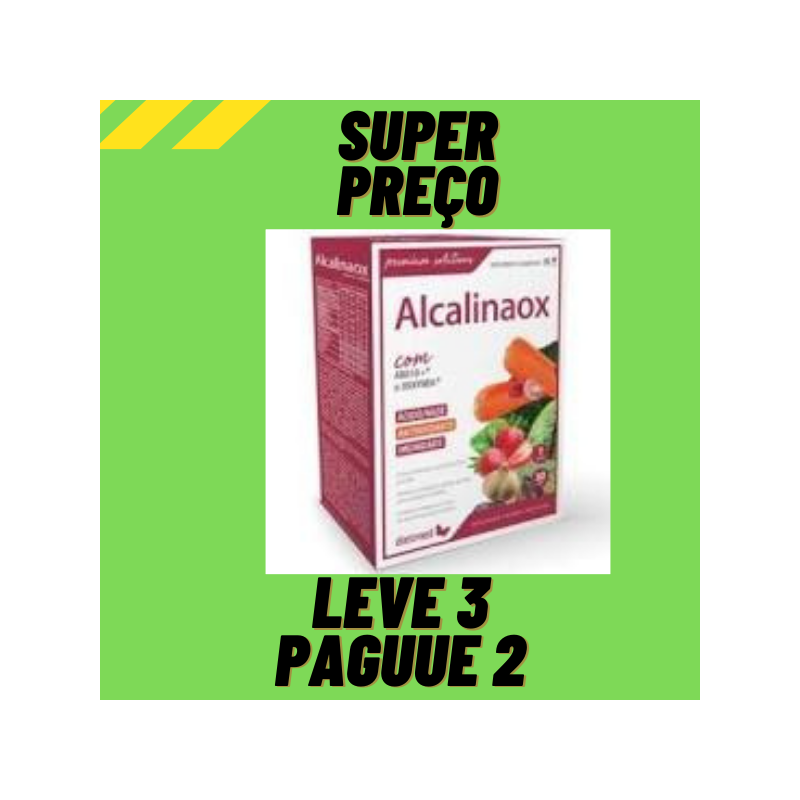 Alcalinaox 30 cápsulas - Dietmed Leve 3 Pague 2