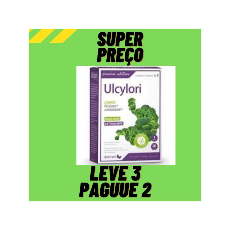 Ulcylori com Brassicare 30 cápsulas Leve 3 Pague 2