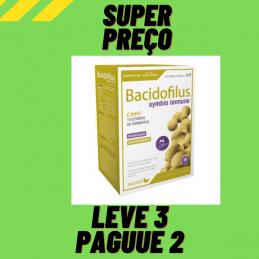 Bacidofilus Symbio Immune 30 Cápsulas Dietmed Leve 3 Pague 2