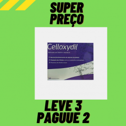 Celloxydil 30 ampolas de 10ml Nutridil Leve 3 Pague 2