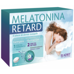 Melatonina Retard 30 comp Nutridil
