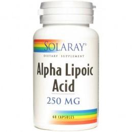 Alpha Lipoic Acid 250mg 60 caps Solaray