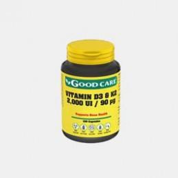 Vitamin D3 & K2 2000 UI 90 ug 120 Capsulas