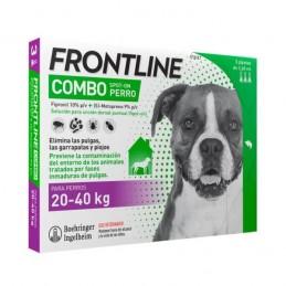 Frontline Combo Cao L20-40 3 Pipetas