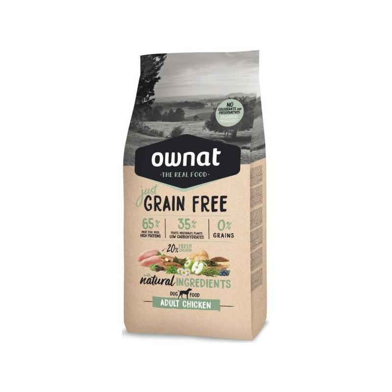 Ownat Just Grain Free Adult Chicken Dog 14Kg