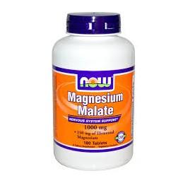 Magnésio Malate 1000mg 180 Comprimidos Now